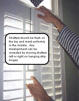Installing Your Plantation Shutters Step 5